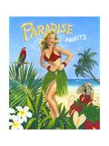 Paradise Awaits Kunst af Scott Westmoreland