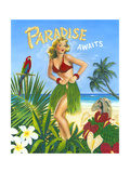 Paradise Awaits Art by Scott Westmoreland
