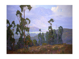 Grand Vista Print by Elmer Wachtel