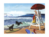 Guard Dogs Print by Scott Westmoreland