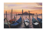 San Marco Sunset Print by Scott Westmoreland