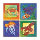 Sea Life Panel I Poster par Scott Westmoreland