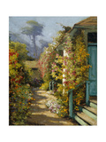 The Cottage Premium Giclee Print by William Adam
