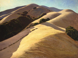 California Hills Premium Giclee Print by Ray Strong