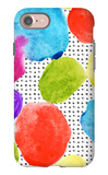 Colorful Watercolor Stains and Grunge Texture Seamless Pattern iPhone 7 Case by  tanycya