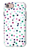Colorful Pattern of Spots iPhone 7 Case by  tverdohlib