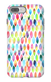 Seamless Pattern of Paint Splash Watercolor Drops iPhone 7 Plus Case by Jane Lane