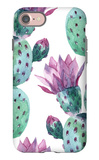 Watercolor Seamless Cactus Pattern iPhone 7 Case by  tanycya
