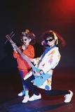 Girls Playing with Musical Instrument Photographic Print by Maria Taglienti-Molinari