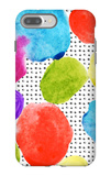 Colorful Watercolor Stains and Grunge Texture Seamless Pattern iPhone 7 Plus Case by  tanycya