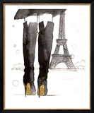 Meet me in Paris Prints by Jessica Durrant