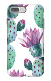 Watercolor Seamless Cactus Pattern iPhone 7 Plus Case by  tanycya