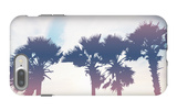 Silhouette Palm Trees at Sunset iPhone 7 Plus Case by  pkanchana