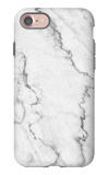 White Marble Texture, Detailed Structure of Marble in Natural Patterned for Background and Design. iPhone 7 Case by noppadon sangpeam