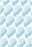 SO ICEY Cold Block Flat 3D Pattern Plakát