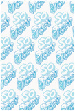 SO ICEY Cold Block Flat 3D Pattern Pósters
