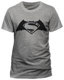 Batman V Superman- Overlapped Hero Icons (slim fit) T-shirts