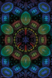 Peace Fractal Posters