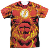 The Flash- New 52 Electified Costume Tee T-shirts