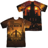 Amityville Horror- House Of Terror (Front/Back) T-Shirt