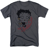 Betty Boop- Classic Zombie T-shirts