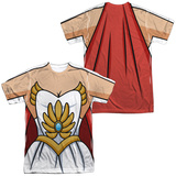 Masters Of The Universe: She Ra- Costume Tee (Front/Back) Sublimated