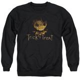 Crewneck Sweatshirt: Trick R Treat- Logo T-shirts