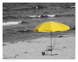 Sunny Umbrella Poster by Eve Turek