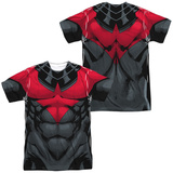 Batman- Nightwing Red Uniform (Front/Back) Sublimated