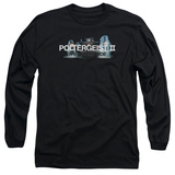 Long Sleeve: Poltergeist II- Haunted Logo T-Shirt