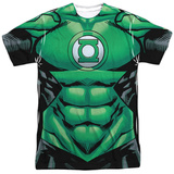 Green Lantern- Uniform Costume Tee T-Shirt