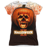 Juniors: Halloween II - Pumpkin Skull Shirts