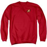 Crewneck Sweatshirt: Batman-Robin Logo Shirts
