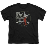 Youth: Betty Boop- Drop Dead Gorgeous T-shirts