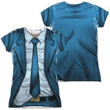 Juniors: Valiant: Quantum And Woody- Woody Costume Tee (Front/Back) T-Shirt