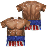 Rocky- Apollo Creed Costume (Front/Back) Sublimated