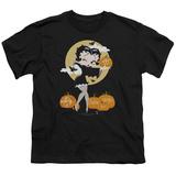 Youth: Betty Boop- Pumkin Patch Vamp Shirt