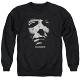 Crewneck Sweatshirt: Halloween II- Masked Kitty T-shirts