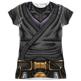 Juniors: Valiant: Ninjak- Stealth Costume Tee Womens Sublimated