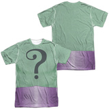 Batman Classic TV- Riddler Uniform (Front/Back) Shirts