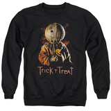 Crewneck Sweatshirt: Trick R Treat- Sucker Shirts