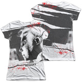 Juniors: Halloween II - Myers Mask T-Shirt