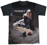 Poltergeist II- The Other Side Black Back Shirt