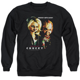 Crewneck Sweatshirt: Bride Of Chucky- Chucky Gets Lucky T-shirts