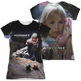 Juniors: Poltergeist II- The Other Side (Front/Back) T-Shirt