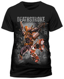 Deathstroke- Harley Team-Up (slim fit) T-Shirts