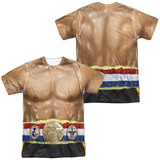Rocky- Italian Stalion Costume Tee (Front/Back) T-Shirt