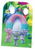 Trolls Stand-In - Can't Stop the Feeling Right Scene Cardboard Cutouts