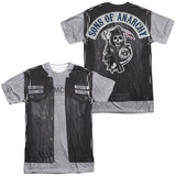 Sons Of Anarchy- Unholy Costume Tee (Front/Back) Sublimated