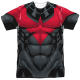 Batman- Nightwing Red Uniform Shirts